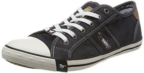 55 bordeaux MUSTANG SHOES Damen Sneakers Schuhe Schnürhalbschuh Rot