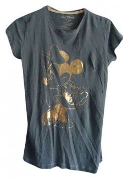 Disney Vintage Minnie Mouse Shirt Modern From Urban Outfitters T Shirt Gray/Metallic $16