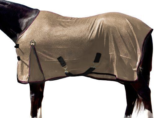 """Kensington Euro Cut Poly Max Fly Sheet by Kensington. $67.99. Keeps your horse cooler. Protects against insect bites. Criss cross belly strap w/ 2"""" snap. Detatchable leg straps. Lightweight & breathable fly sheet. A Lightweight- Ultra-breathable PolyMax Fly Sheet now featured in European cut! This fly sheet not only keeps your horse cooler, but offers great comfort from biting insects. Its features include criss-cross belly strap with a 2"""" snap and detachable elastic leg straps..."""