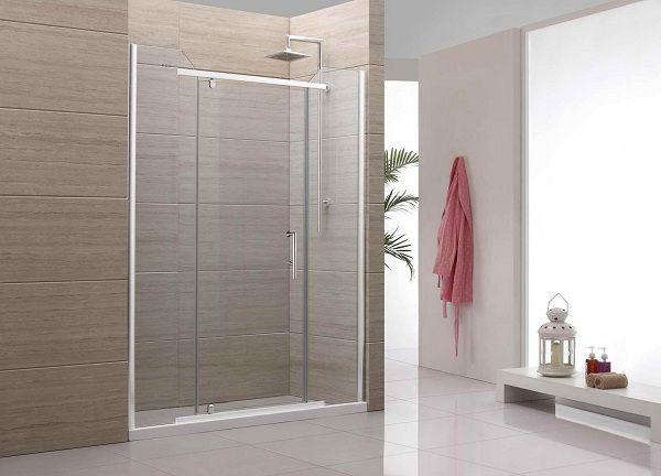 Simple Sliding Glass Shower Door Frameless For Modern Bathroom Part 75