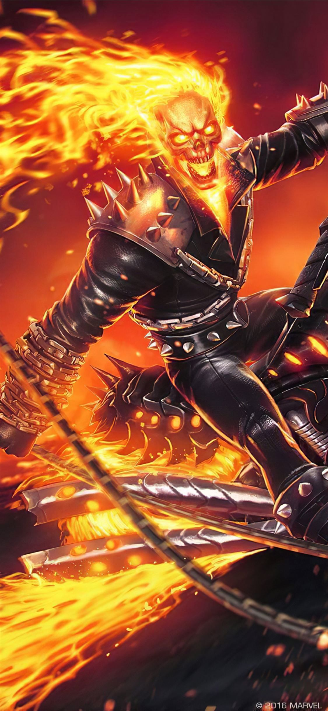 4k Ghost Rider Contest Of Champions Marvelcontestofchampions Ghostrider Superheroes Games Ma Ghost Rider Wallpaper Ghost Rider Pictures Ghost Rider Marvel