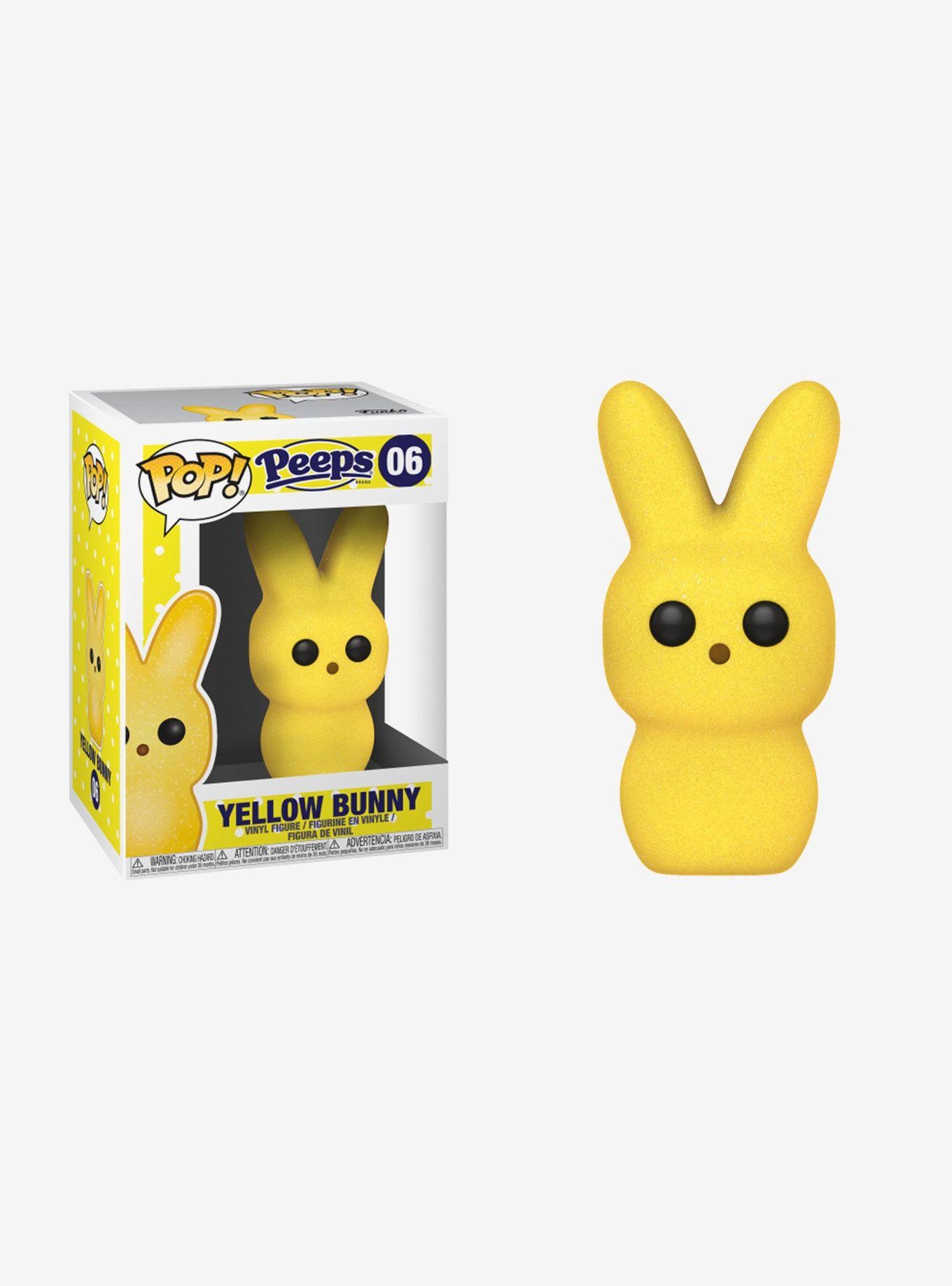 Funko Peeps Pop Yellow Bunny Vinyl Figure Vinyl Figures Toy Story Slinky Kids Pop