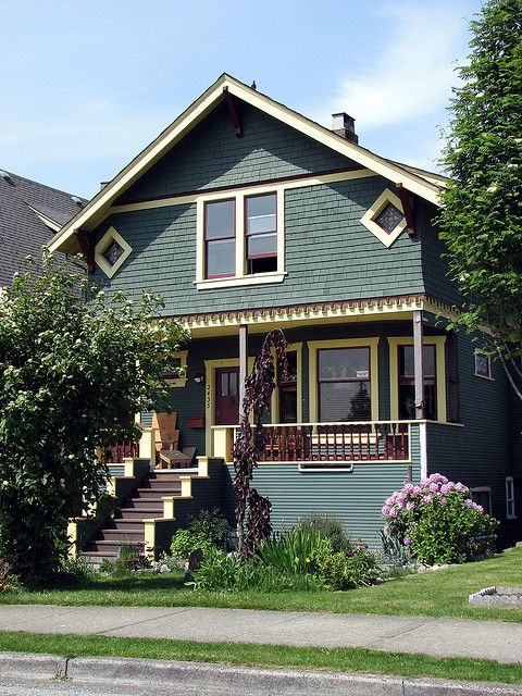 Early 1900 Home Design: House Exteriors (early 1900s