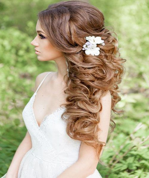 Princess Hairstyles Long Curly Princess Hairstyles Makeup  Hairs Styles