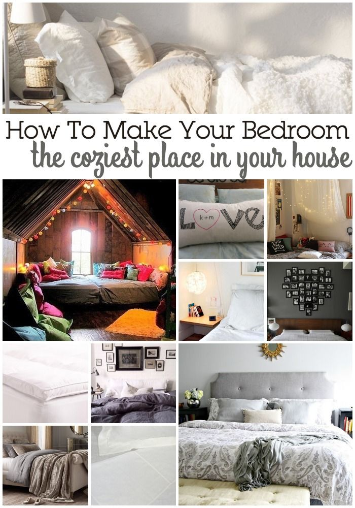 15 Ways To Make Your Bedroom The Coziest Place In Your House Bedroom Decor Cozy Cozy Bedroom Warm Cozy Bedroom Diy