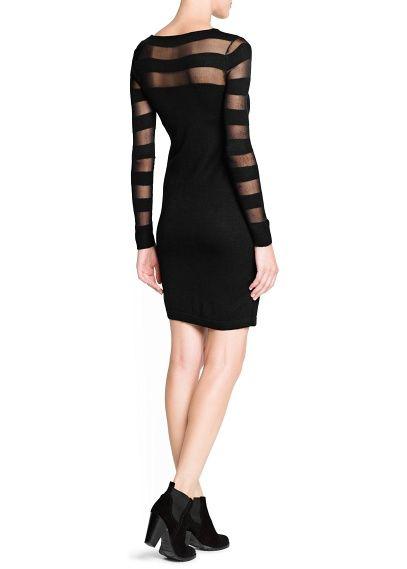 b482b7ce Vestido detalle transparencias - Mujer   Moda   Dresses, Fashion ...