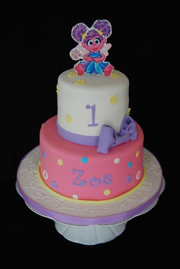 Abby Cadabby First Birthday Childrens Cakes Cakepins Com