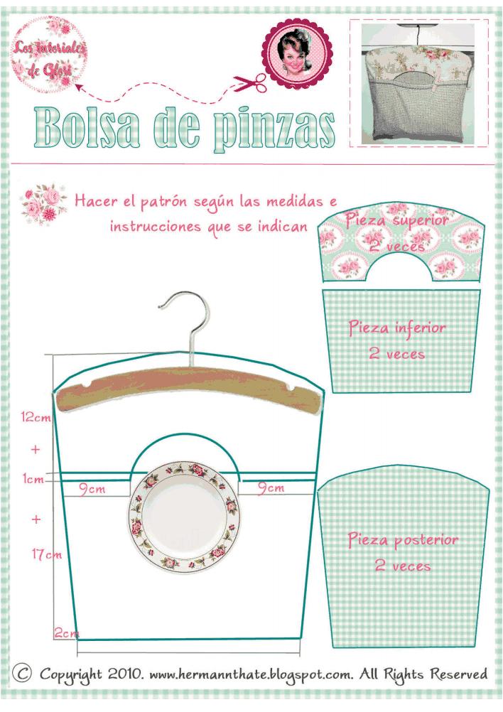 Microsoft Word - bolsa pinzas_hermannthate.pdf | Costura | Pinterest ...