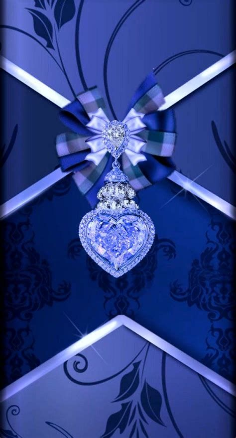 Images By Chantal Wiese On BLUE   Heart Iphone Wallpaper
