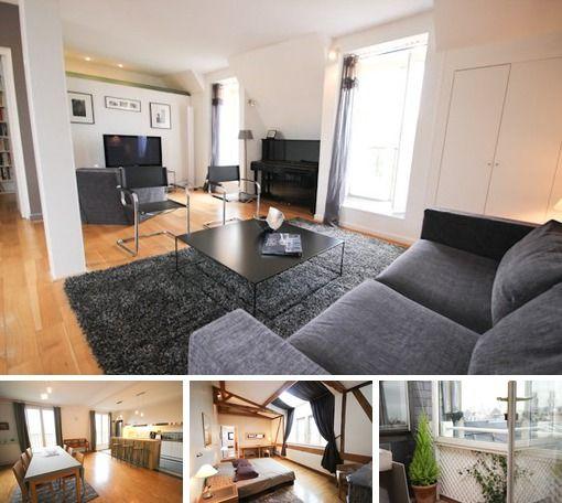 Paris   Rue De Medicis   3 Bedroom Duplex Apartment For Rent