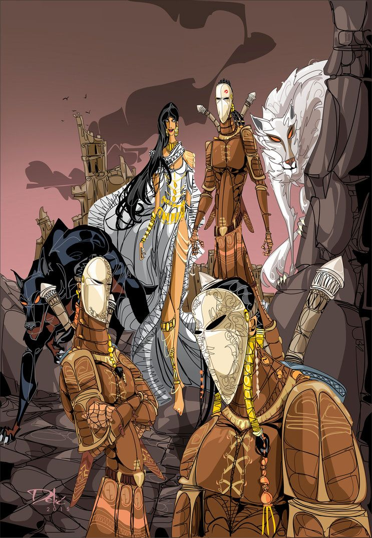 Lady Envy And The Seguleh By Dejandelic On Deviantart #malazan