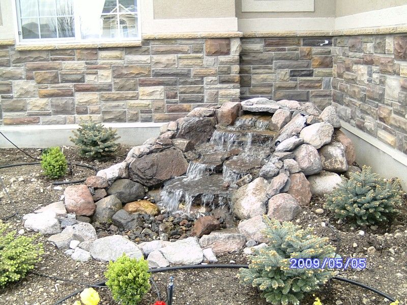 Pondless Water Features Pondless Waterfalls Stream