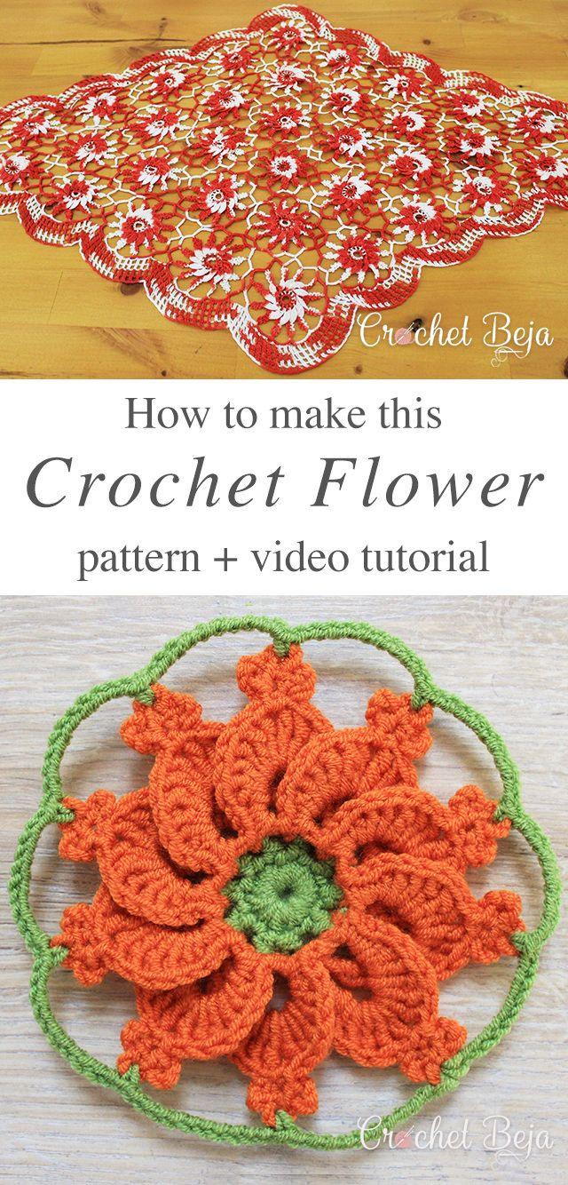 Crochet-Flower-Free-Pattern-Video-Tutorial