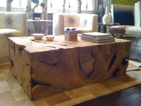 Teak Root Coffee Table | Деревообработка, Необычные стулья ...