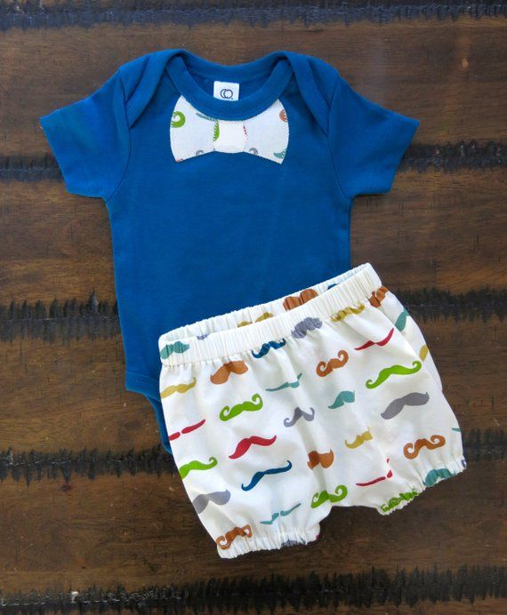 Baby Moustache outfit / Moustache baby clothes / organic ...
