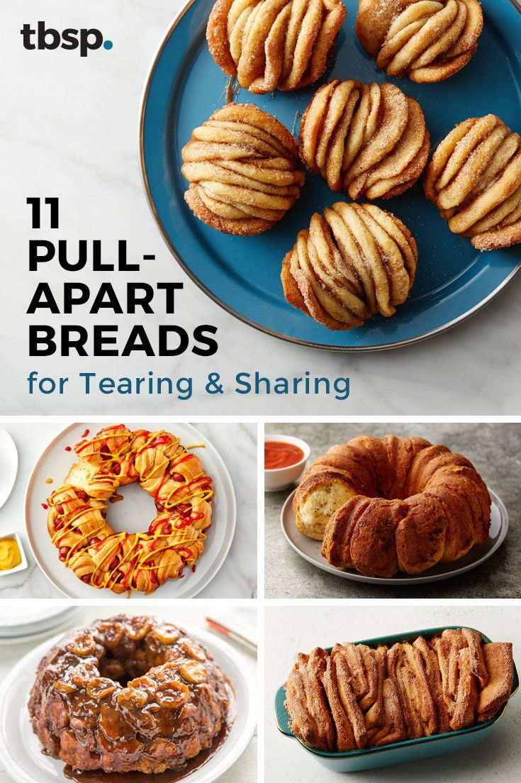 11 Pull-Apart Breads For Tearing and Sharing #tearandsharebread
