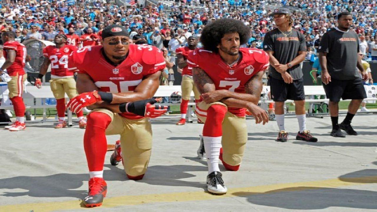 6 Buffalo Bills Kneel During National Anthem Before Atlanta Falcons Game Kneeling During National Anthem Atlanta Falcons Game National Anthem