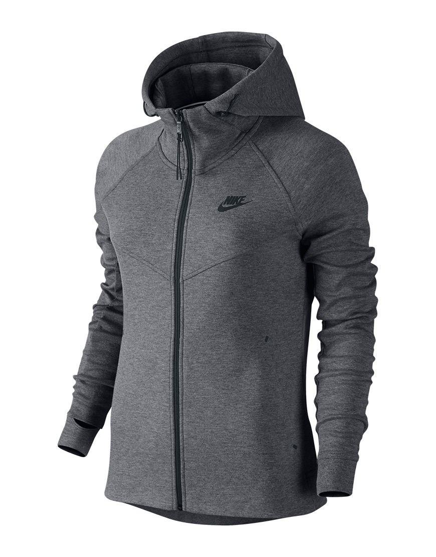 c2ca385676c Nike - Vest - Nike Fleece Full Zipper Grey | Mooie in 2019 - Nike ...