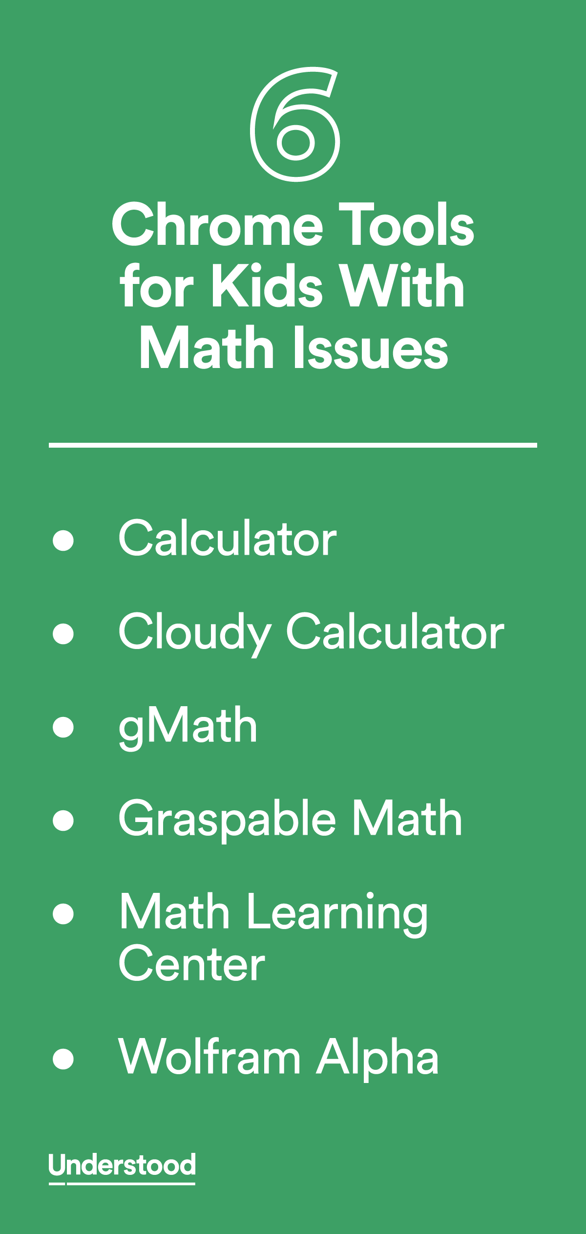 6 Chrome Tools for Kids With Math Issues | Assistive technology ...