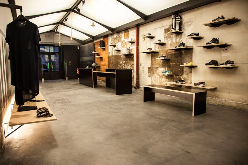 clearance prices hot sale new appearance No42 adidas Concept Store Opening in Paris | interior ...