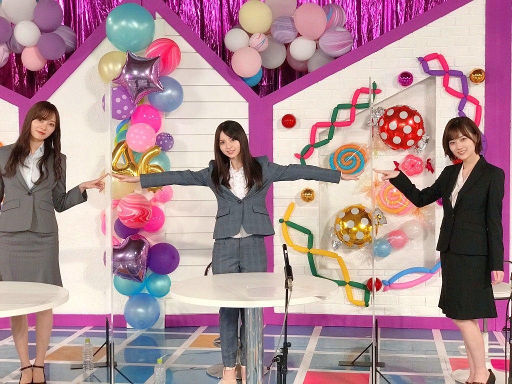 Pin By Ku Ro On 乃木坂 3ショット In 2020 Make It Yourself Fun Slide Saito Asuka
