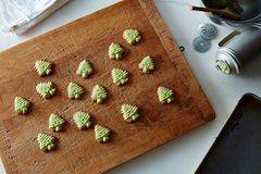 Spritz butter Christmas cookies http://food52.com/recipes/39582-spritz-butter-christmas-cookies