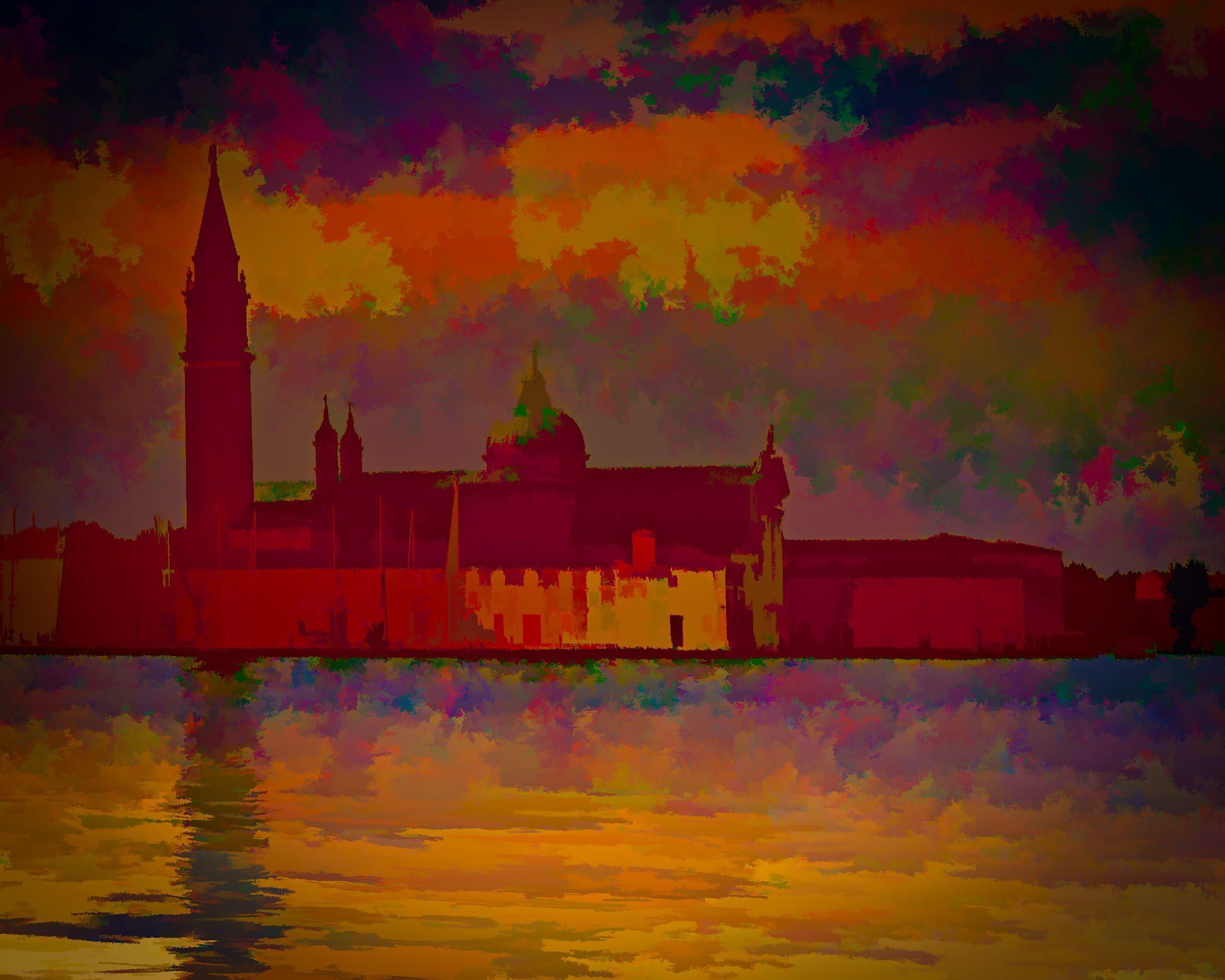 Photograph Impressions of San Giorgio Maggiore at Dusk by Bob Hartmann on 500px