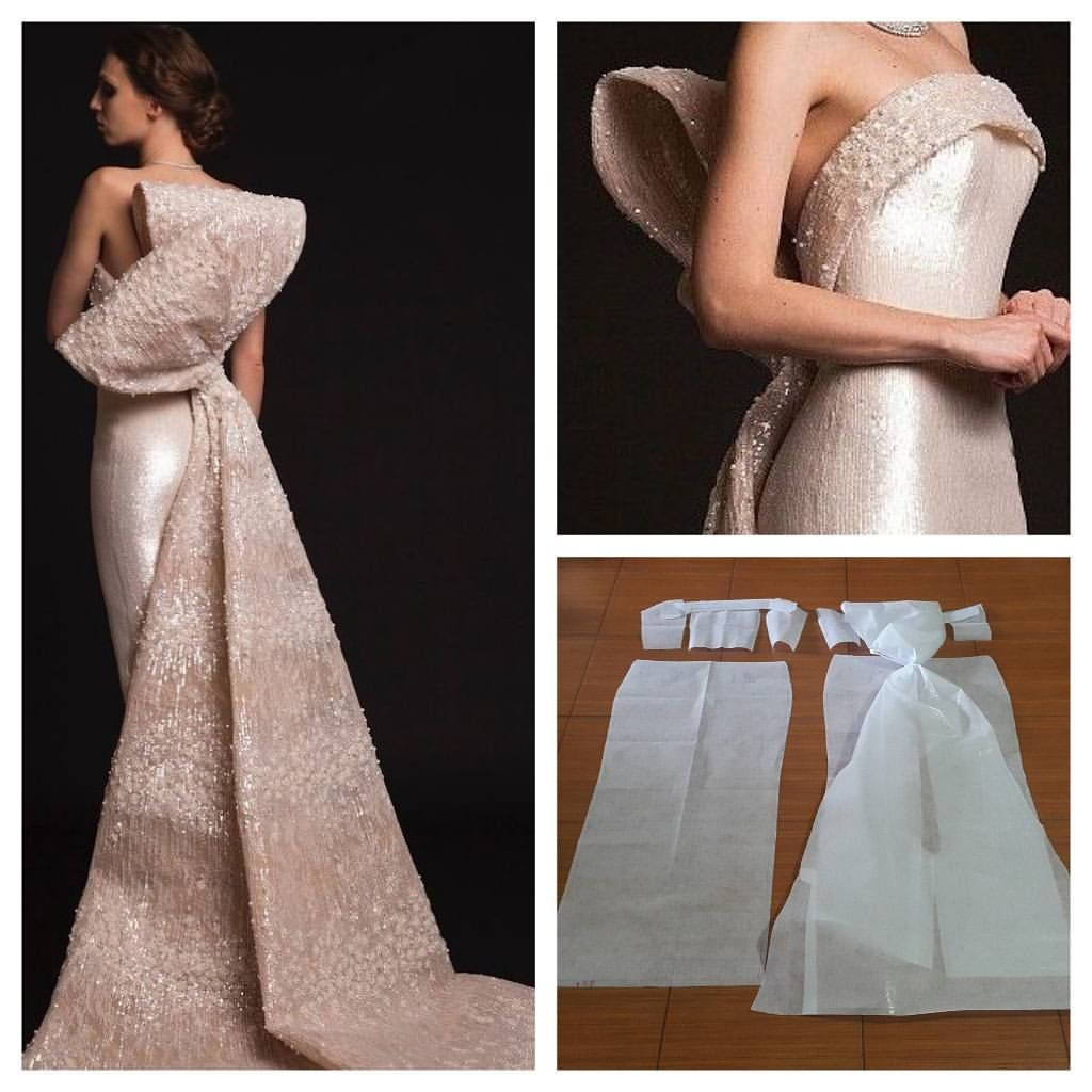 Gown/ back bow | sewing | Pinterest | Schnittmuster