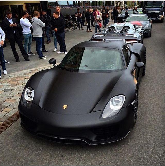 Black Porsche, Sports Car, Porsche