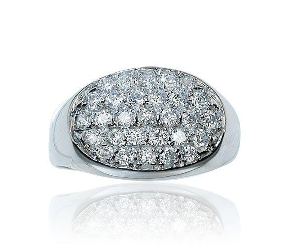 Diamond Ring Ring Whitegold  Diamantring in Weissgold mit 0,752ct Diamanten