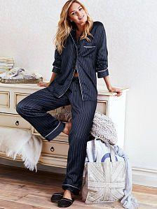 6e63c9f00b049 The Afterhours Satin Pajama Seidenpyjamas