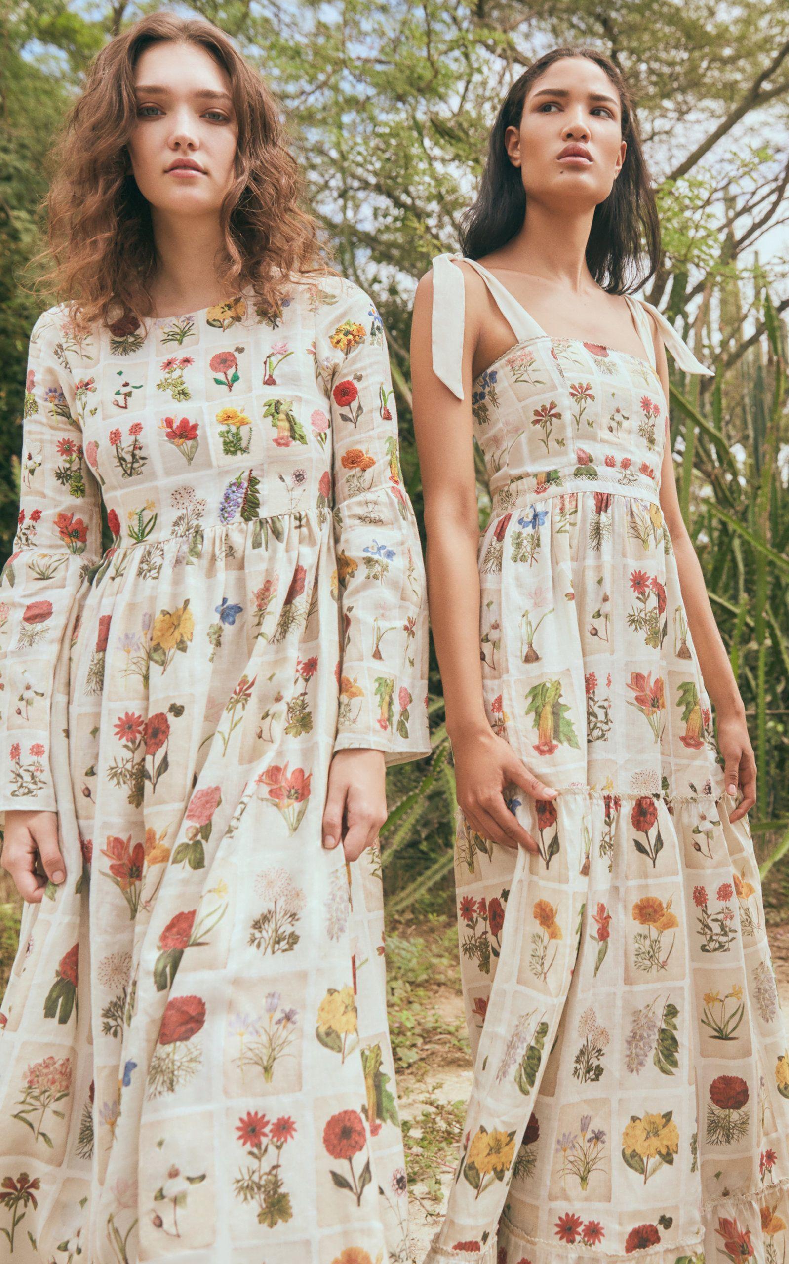 9454297cf73a2 Click product to zoom Printed Linen, Linen Dresses, Maxi Dresses, Floral  Motif,
