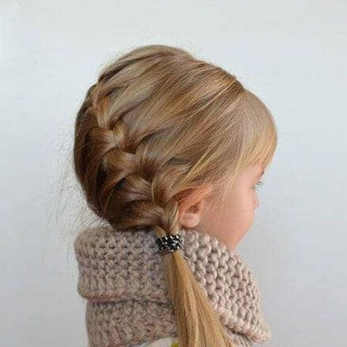 65 Cute Little Girl Hairstyles (2019 Guide) #girlhairstyles
