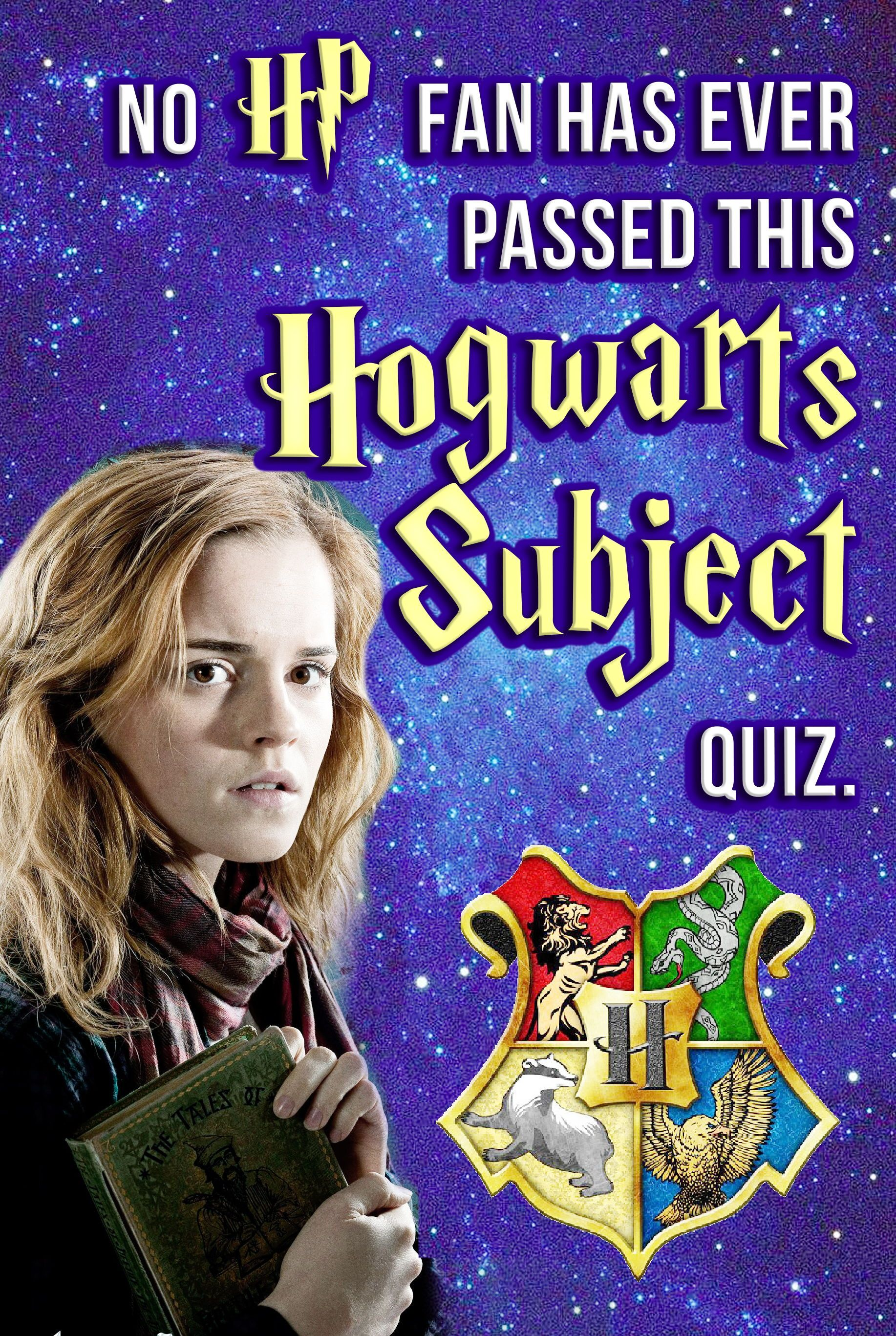 Quiz No Potterhead Has Ever Passed This Hogwarts Subject Quiz Can You Harry Potter Quizzes Harry Potter Zodiac Hogwarts Quiz