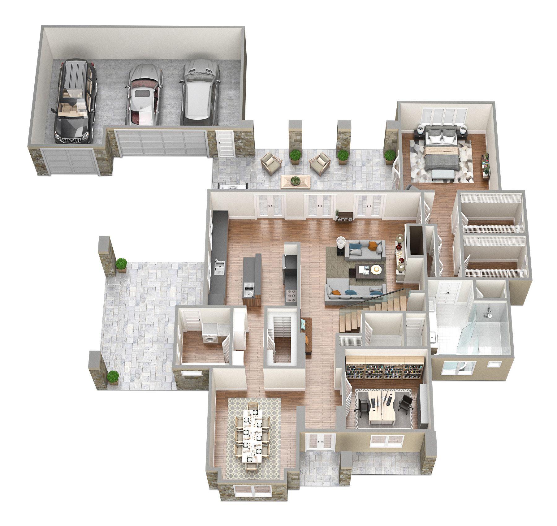 saudi aramco villa plans 1 - architecture | Islamic Villa ...
