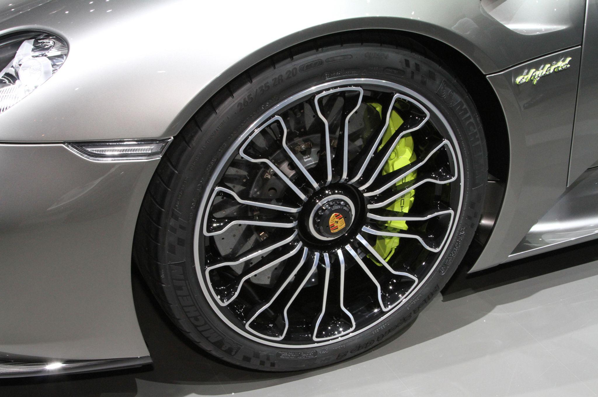 2014 porsche 918 spyder wheel exterior