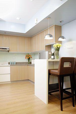 Pastel Colors For A 40sqm Condo In Manila Smart Kitchen Home Kitchens Kitchen