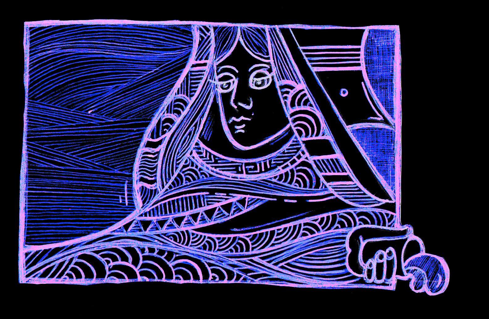 """Deserto"" My work - Cristina Augello"