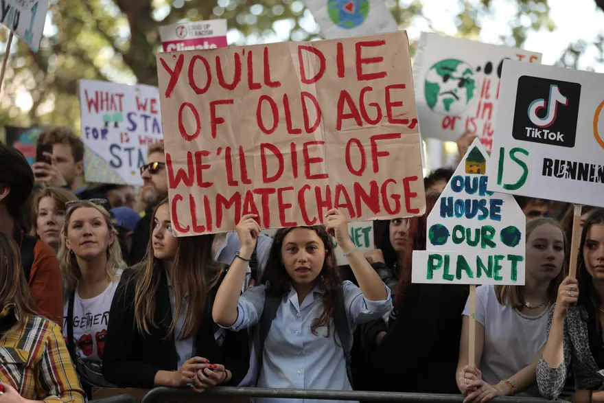 The Best Climate Strike Signs From Around The Globe In Pictures Us News The Guardian Climate Change Climates Planets