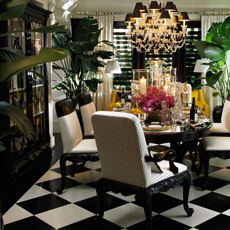 Ralph Lauren Bel Air Room Scene Dining Decor British Colonial