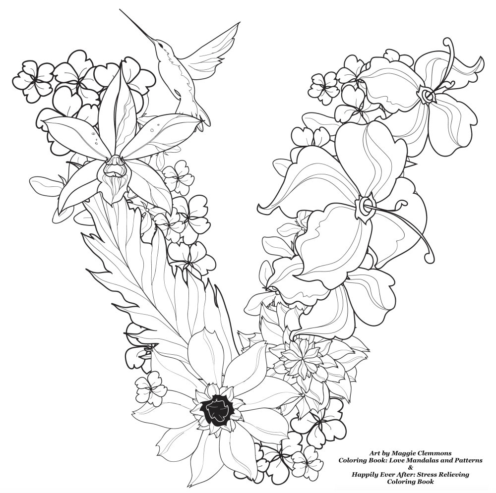 Attrayant Free Coloring Pages From Adult Coloring Worldwide Art By Maggie Clemmons  Coloring Book: Love Mandalas