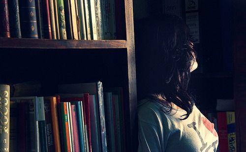 book, books, bookshelf, bookcase, i love books, love, vintage, cute, sweet, girl, read, reader, reading