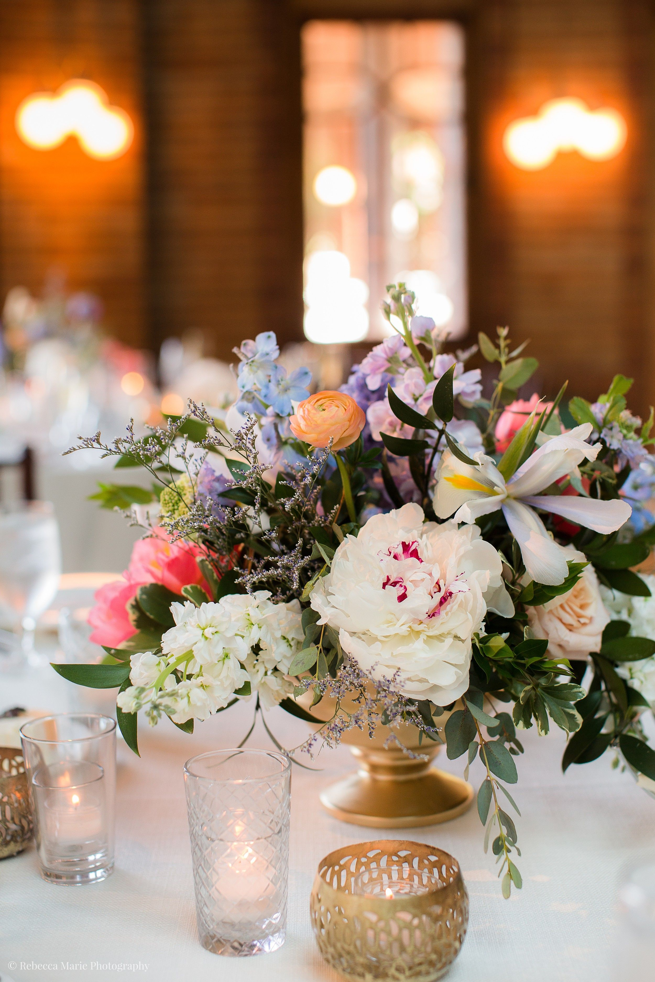 Cafe Brauer Wedding Day Wedding table decorations