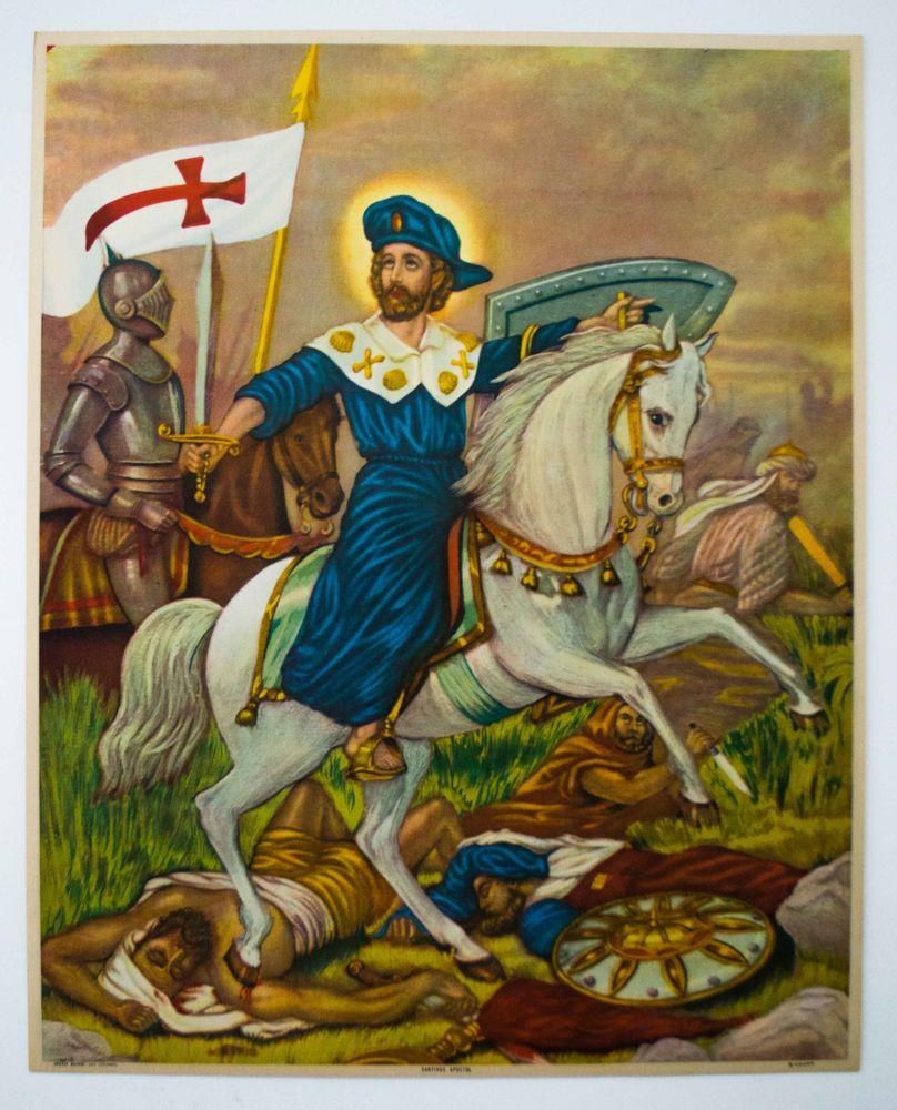 señor santiago apostol - Buscar con Google   Señor santiago, Santiago  apostol, Santo santiago apostol