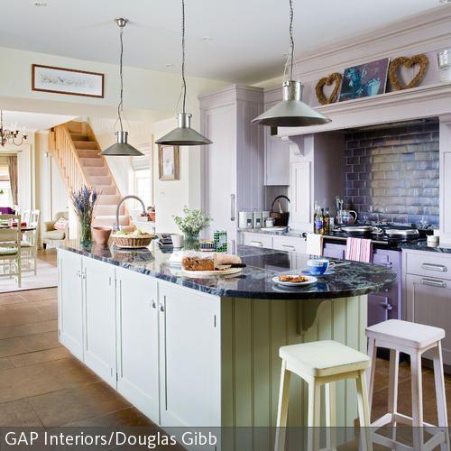 Kücheninsel Mit Marmorplatte