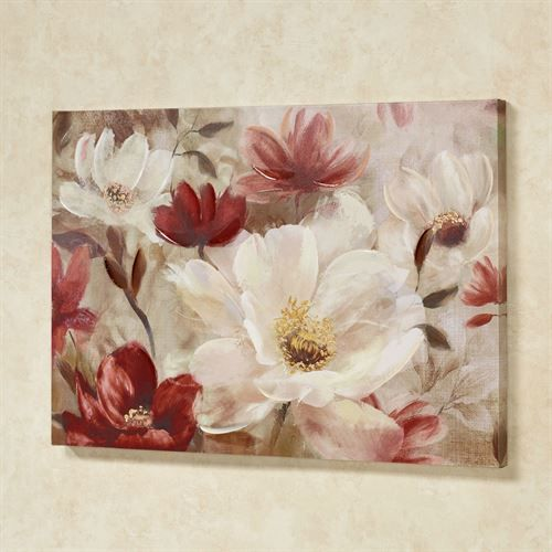 Natures Jewels Floral Canvas Wall Art Floral Wall Art Canvases Floral Painting Canvas Wall Art