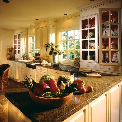 Warm Kitchen Color Schemes: Warm Kitchen Paint Colors Are A Worthy Choice For Your