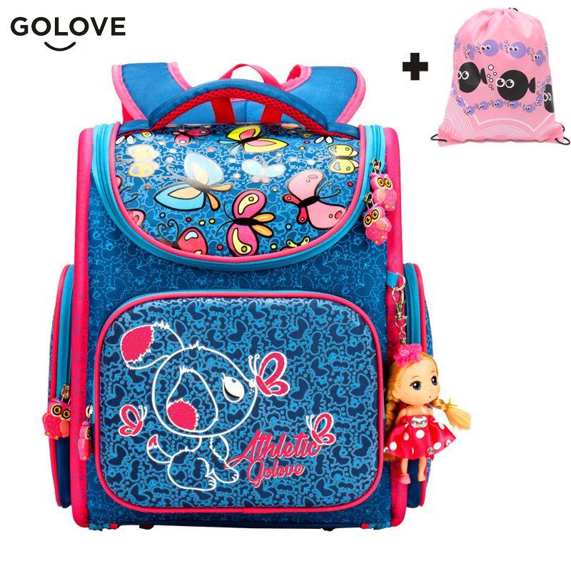 6808dd0ee2 Bag · 2017 Top Quality Children School Bags for Girls Boys Waterproof Orthopedic  kids Backpacks floral School Book