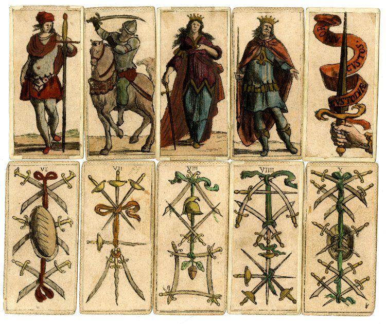 Tarot pack: Mitelli's Tarocchini; complete pack of 62 ...
