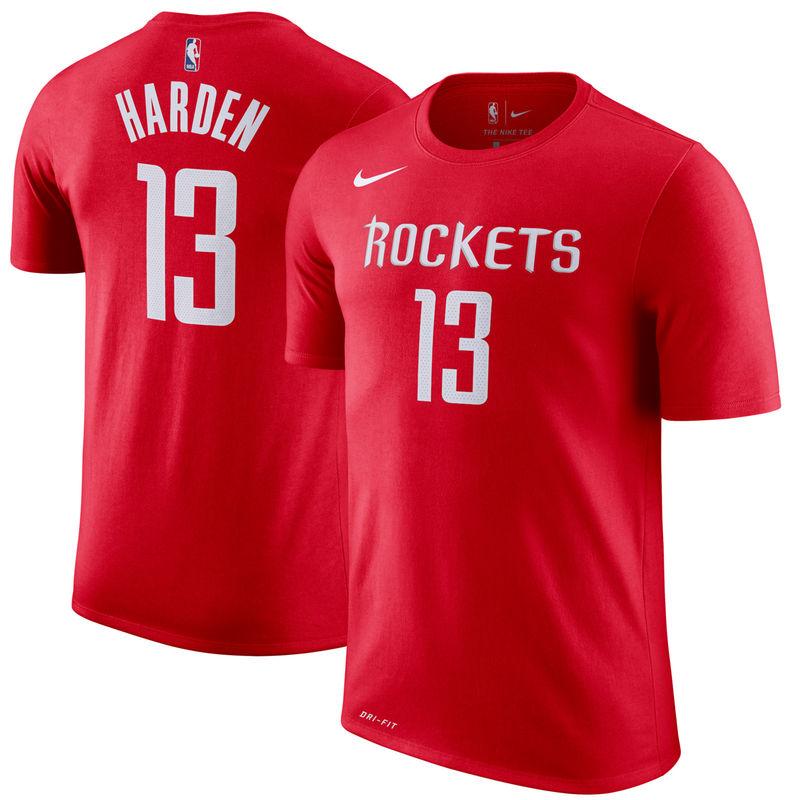 James Harden Houston Rockets Nike Name & Number Performance